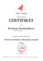 certifikát maséra