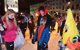 Mikuláš na Vánočním kluzišti!!!