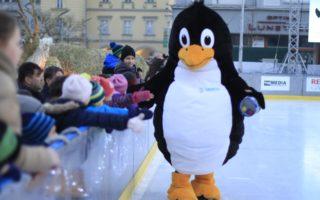 Děti si za ty roky tučňáka Rudolfa hodně oblíbily.