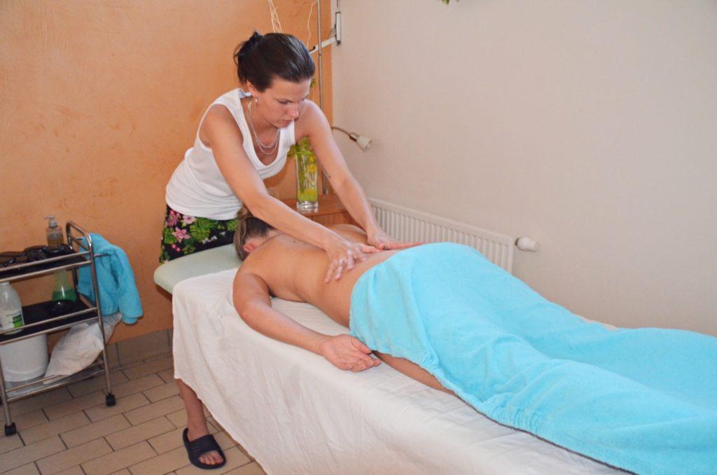 masáž sester