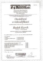 certifikát trenéra